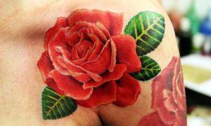 tatuaggio rosa-300X180