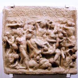 Michelangelo-Battaglia dei Centauri-250x250