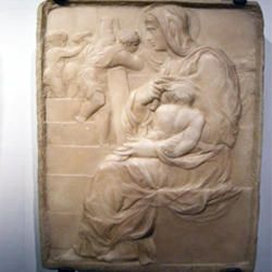 Michelangelo-Madonna della scala-250x250