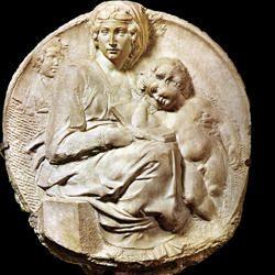 Michelangelo-Tondo Pitti-250x250
