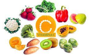 Vitamine e cancro- Vitamina C-Assunzione giornaliera raccomandata e contenuto di vitamina C in alcuni alimenti-300x180