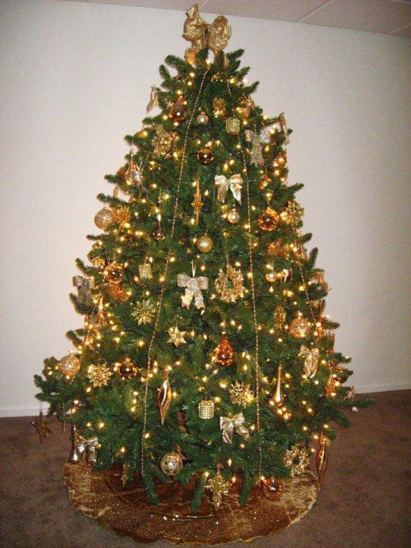 Alberi Di Natale Addobbati Oltre 150 Foto Da Cui Trarre