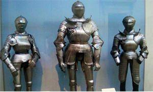 Le pesanti armature affaticavano i cavalieri-300x180