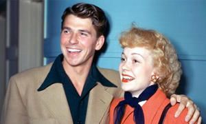 Ronald Reagan e Jane Wyman-300x180