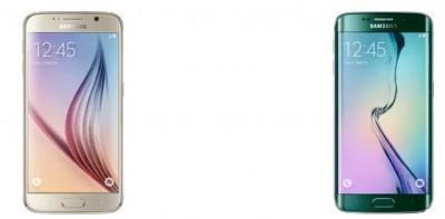 Samsung S6 e Samsung S6 Edge