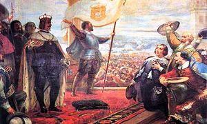 Il duca di Braganza viene acclamato re Giovanni IV di Portogallo-300x180