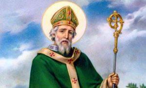 San Patrizio evangelizza l'Irlanda-300x180