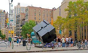 Ruotare il gigantesco cubo di Astor Place-300x180
