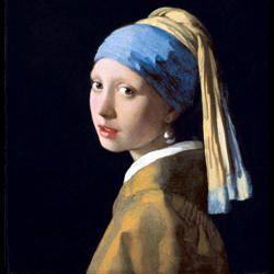 La ragazza con l'orecchino di perla-il quadro-250x250