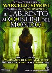 Il labirinto ai confini del mondo di Marcello Simoni-180x250