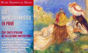 Museo Marmottan Monet Impressionnistes en privé-300x180