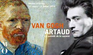 Vincent van Gogh Antonin Artaud. Le suicidio de la societa-300x180