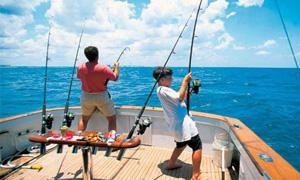 Surf-fishing, pesca di traina costiera, pesca costiera di fondo o di deriva dall'imbarcazione, e pesca sportiva d'altura-300x180