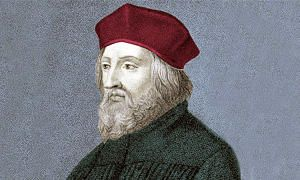 6 luglio 1415 - Jan Hus brucia sul rogo-300x180