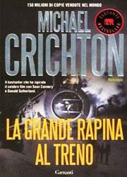 La grande rapina al treno di Michael Crichton-180x250