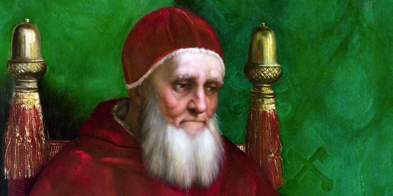 Papi famosi-Giulio II, il Papa guerriero-800x400