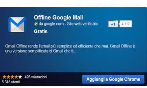 Annullare l'invio di un messaggio e usare Gmail offline-300x180