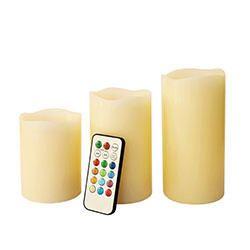 Tre candele senza fiamma-250x250