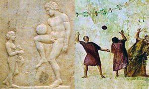 Chi e quando si giocava a palla? Grecia e Roma-300x180