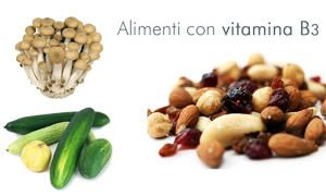 La vitamina B3 o PP o niacina-300x180