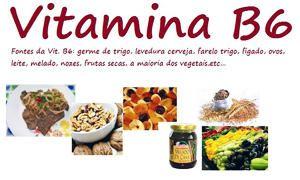 La vitamina B5 o acido pantotenico e la vitamina B6 o piridossina-300x180
