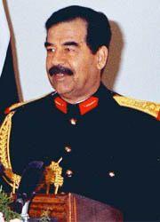 Saddam Hussein si proclama presidente dell'Iraq-180x250