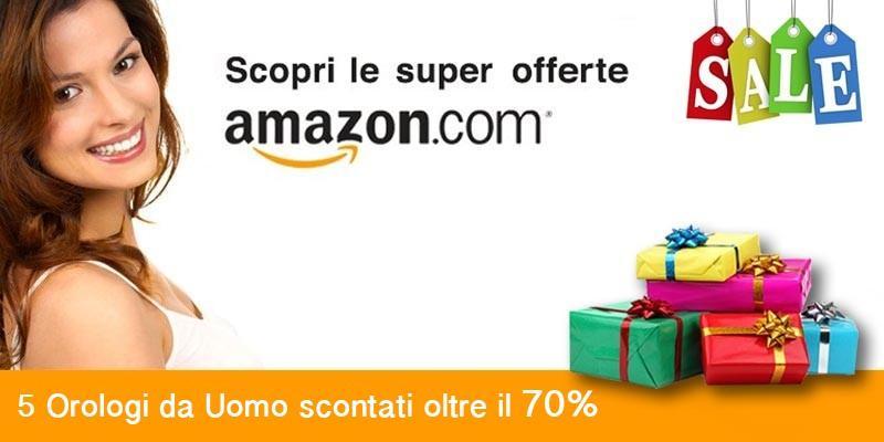 Amazon orologi Uomo- scopri le super offerte della settimana-800x400