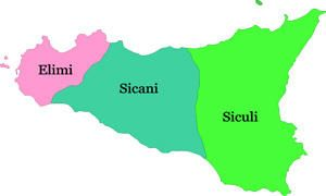Sicani, Siculi ed Elimi