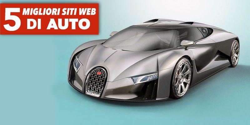 I migliori 5 siti web di auto for Siti di design