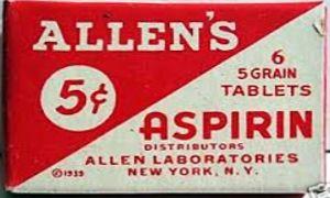 L'Aspirina in tempo di guerra-300x180