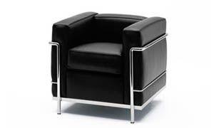 Sedie e poltrone di design eleganza e raffinatezza si for Poltrona lc2