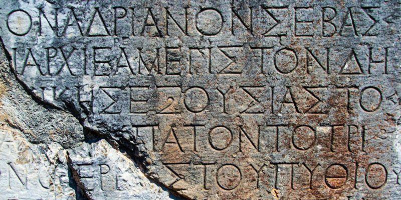alfabeto di datazione
