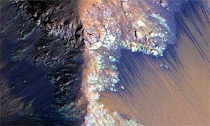 Acqua liquida trovata su Marte-300x180