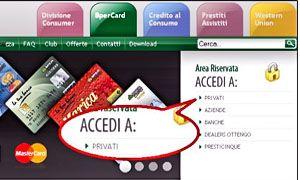 Area riservata per accedere al conto-300x180