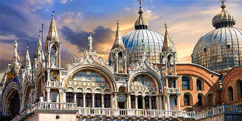 la basilica di san marco a venezia. Black Bedroom Furniture Sets. Home Design Ideas