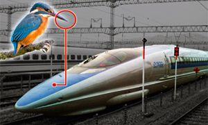 """La velocità aumenta se il """"muso"""" del treno è come il becco del martin pescatore-300x180"""