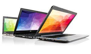 Un ufficio sulle proprie ginocchia- ecco il laptop-300x180