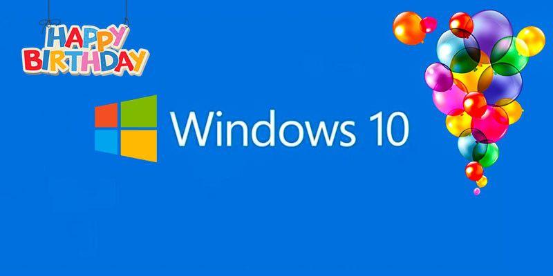 Buon compleanno Windows 10-800x400