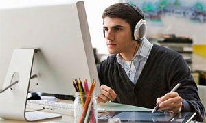 E utile ascoltare musica mentre si lavora-300x180