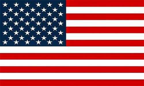 La bandiera statunitense