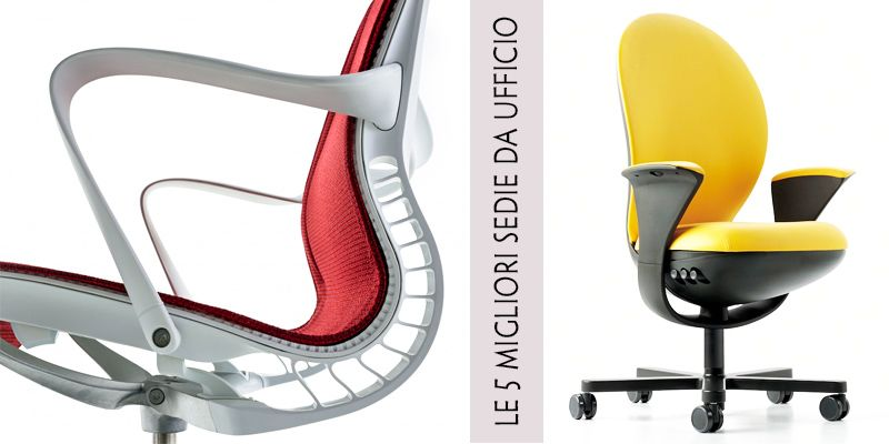 Le 5 migliori sedie da ufficio for Sedute da ufficio