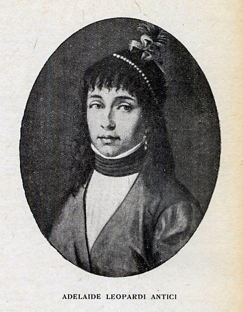 Adelaide Antici, la mamma di Giacomo Leopardi