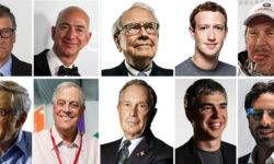 La Top Ten dei miliardari Usa per il 2017-800x400