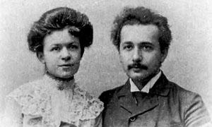 Albert Einstein e Mileva Maric-300x180