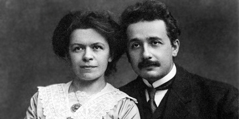 Albert Einstein e Mileva Maric-800x400