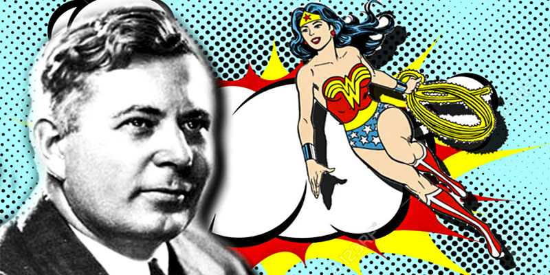 William Moulton Marston e la Wonder Woman-800x400