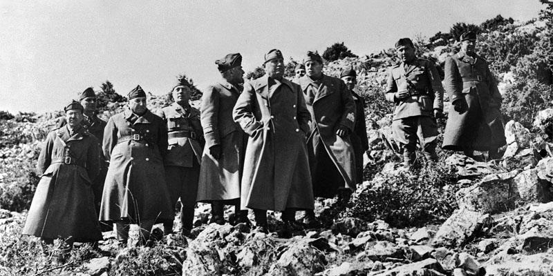 Mussolini e la campagna di Grecia-800x400