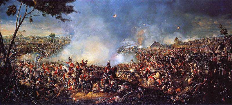 la battaglia di Waterloo-800x400