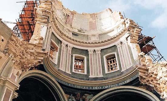 cattedrale distrutta