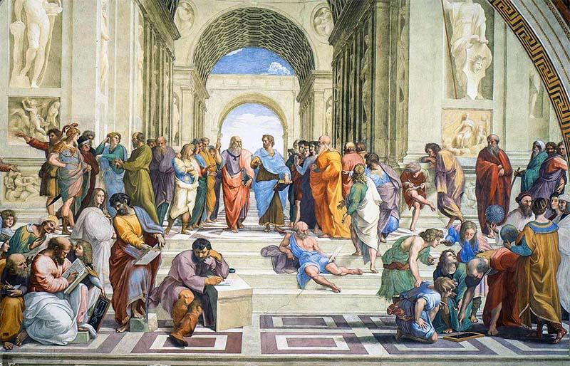 Raffaello-scuola di atene-9-800x400